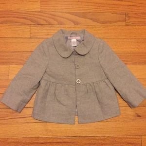 Janie & Jack toddler girl peacoat